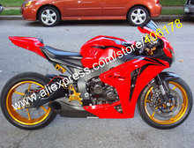 Hot Sales,For Honda CBR1000RR CBR 1000RR CBR 1000 RR 2008 2009 2010 2011 Red Motorcycle Bodywork Fairing Kit (Injection molding)