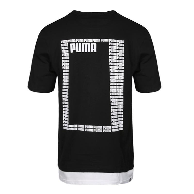 Nouveauté originale Puma été rebelle Logo Tee-shirts hommes manches courtes vêtements de sport - 3