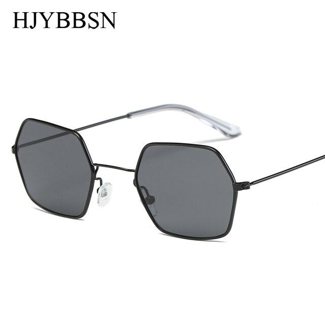 6f145b32706be Mais novo barato óculos de sol Quadrado Unisex Famosa Marca Sunglases óculos  de Sol Quadrados Do