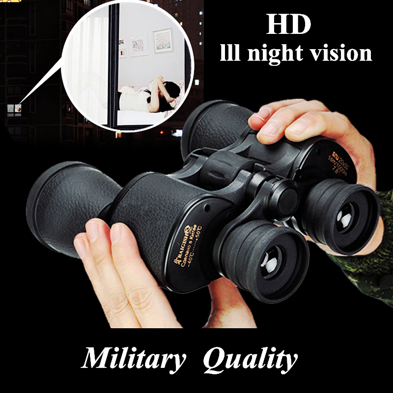 Image 5 - Binoculars 20x50 Hd Powerful Military Baigish Binocular High Times Zoom Russian Telescope Lll Night Vision For Hunting Travel-in Monocular/Binoculars from Sports & Entertainment