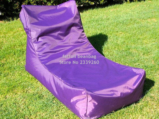 Fabulous Us 50 0 Cover Only No Filler Purple Outdoor Bean Bag Furniture Chair Outdoor Waterproof Beanbag Sofa Seat Garden Hammock Chair In Living Room Andrewgaddart Wooden Chair Designs For Living Room Andrewgaddartcom
