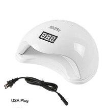 48W Sun5 Nail Dryer For Nail UV LED Lamp 4 File Timing 10S/30s/60s Nail Gel Polish Manicure Display Lamp USB Nail Art Dryer#LD06 цена и фото