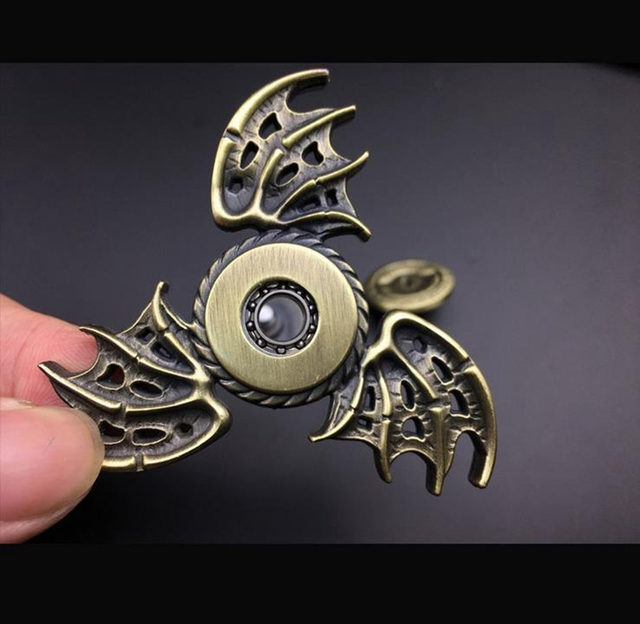 Game of Thrones Dragon Wings Metal Hand Spinner Toy