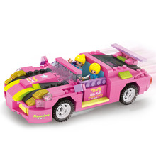 COGO Dream Girl Educational Building Blocks Toys For Children Kids Bricks Gifts Car Model Friends City Compatible With Legoe