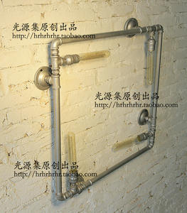 Home-Wall-Lamp Decoration Light-Source Water-Pipe-Production 73-Tube-Industry Retro Creative