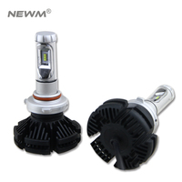 X3 2Pcs 9005 HB3 9006 HB4 H11 H4 H7 Led H1 Auto Car Headlight 50W 6000LM