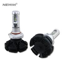 X3 2Pcs 9005 HB3 9006 HB4 H11 H4 H7 Led H1 Auto Car Headlight 50W 6000LM