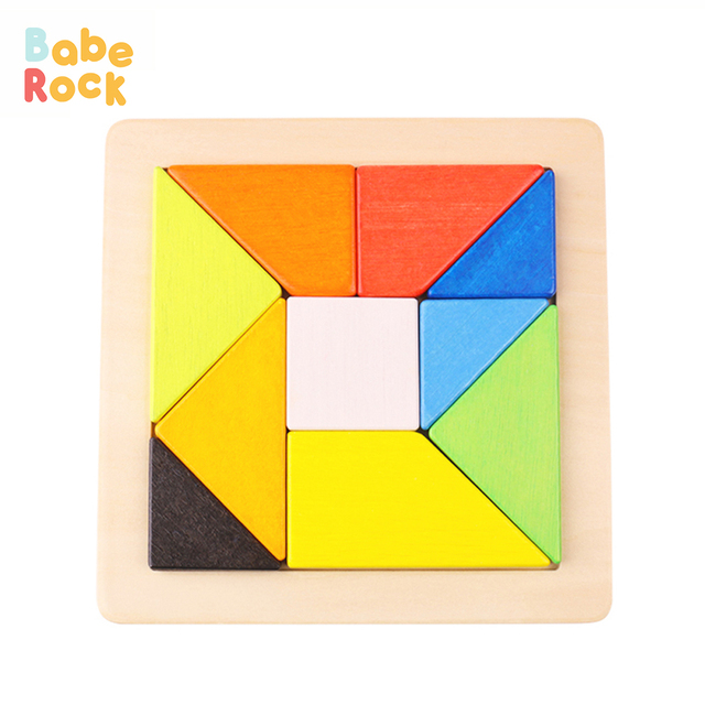 US $31 52  BabeRock Wooden Toys Children Educational Puzzle Jigsaw Puzzle  Geometric Shape Puzzle learning toys-in Puzzles from Toys & Hobbies on