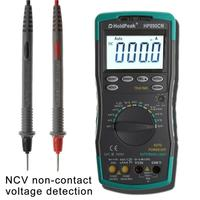 HoldPeak HP 890CN LCD Digital Multimeter DC AC Voltage Current Meter with NCV Detector Temperature Meaurement Auto Range