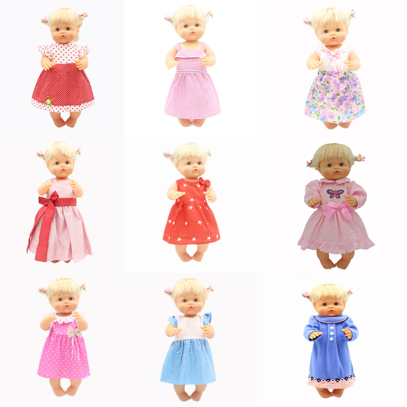 Colorful Dress Set Clothes Fit 42 Cm Nenuco Doll Nenuco Y Su Hermanita Doll Accessories