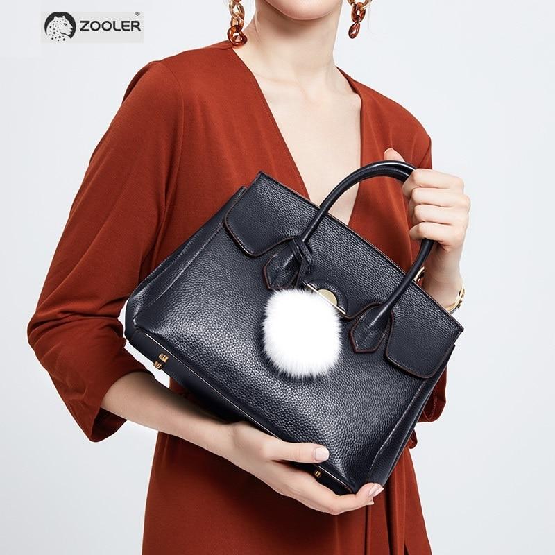 2019 ใหม่ผู้หญิงแฟชั่นกระเป๋าหนังแท้กระเป๋าถือกระเป๋าถือซิป Elegant หญิง Messenger กระเป๋าสะพายแฟชั่น MH202-ใน กระเป๋าหูหิ้วด้านบน จาก สัมภาระและกระเป๋า บน   1