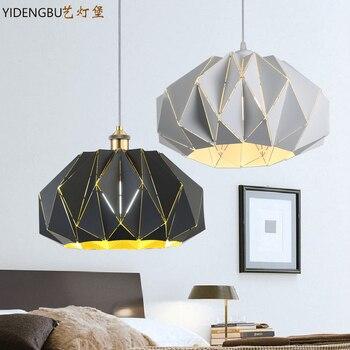 방법 droplight 포스트 모던 레스토랑 바 램프는 성격, 단철 카페, 램프 및 등불의 역할을합니다.