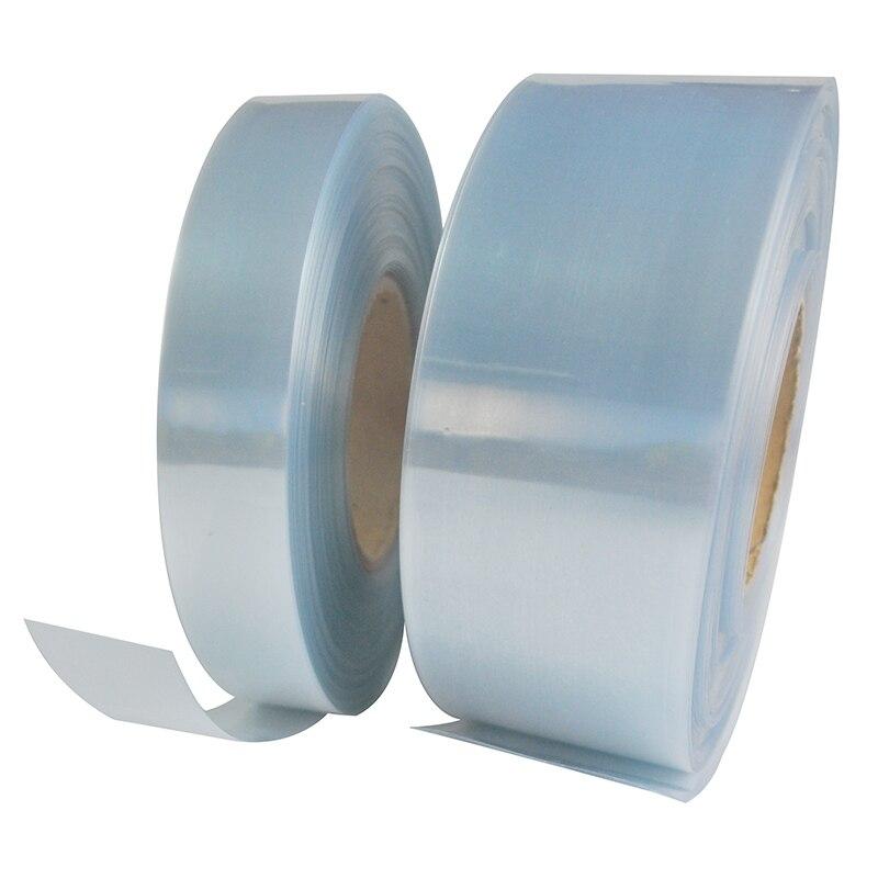 1 м Прозрачная ПВХ термоусадочная трубка термоусадочная пленка RC части для Lipo батареи 35 мм 50 мм 62 мм 72 мм 82 мм 90 мм 120 мм 110 мм изоляция