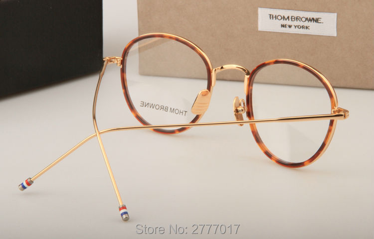 b785d2d211c Thom Browne eyeglasses metal frames TB905 men women Oculos Vintage ...