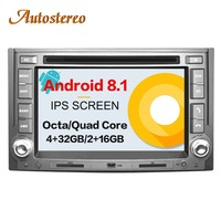 Android 8,1 автомобиль gps навигации стерео DVD плеер для HYUNDAI H1 2007 2015 Starex IMAX ILOAD 2008 + 2 din магнитола