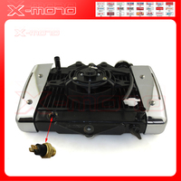 NEW 200cc 250CC Water cooling engine cooler Radiator cooling 12v fan for motorcycle moto Quad 4x4 ATV UTV parts