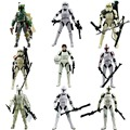 "9pcs Lot Star Wars The Black Series Boba Fett Stormtrooper 6"" Figure Loose Hasbro053"