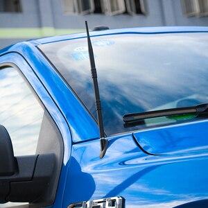 SHINEKA Schwarz Auto Zubehör 19CM 33,5 CM Auto Auto FM AM Radio Signal Metall Ändern Antenne für Ford F150 2015 +