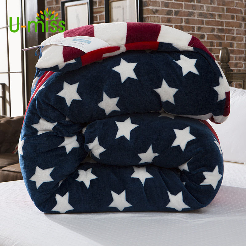 U-miss Spring and Autumn Bordure 100% Polyester Flannel Blanket for Bed Sofo Thick Rectangle Adults Soft modern portable BlanketU-miss Spring and Autumn Bordure 100% Polyester Flannel Blanket for Bed Sofo Thick Rectangle Adults Soft modern portable Blanket