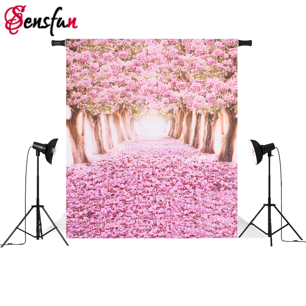Sensfun Thin Vinyl Photography Backdrops Photo Studio Flower Photographic Background for Wedding Photocall F-1074 thin vinyl photography background photo backdrops christmas theme photography studio background props for studio 5x7ft 150x210