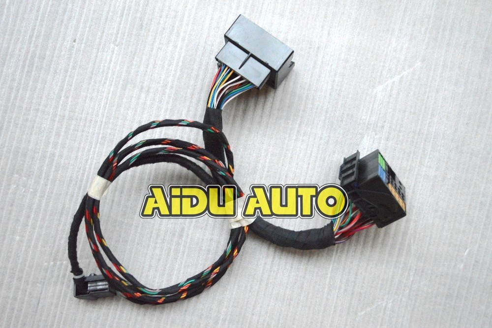 ФОТО RNS510 RCD510 Media Interface MDI Plug&Play Wiring Harness cables 5N0 035 341 G