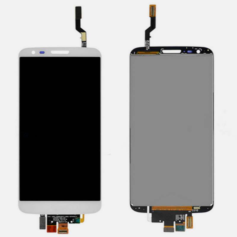 touchscreen For LG Optimus G2 D801 D803 D800 lcd display Screen with Digitizer Touch Panel  White батарейку на lg kg 800