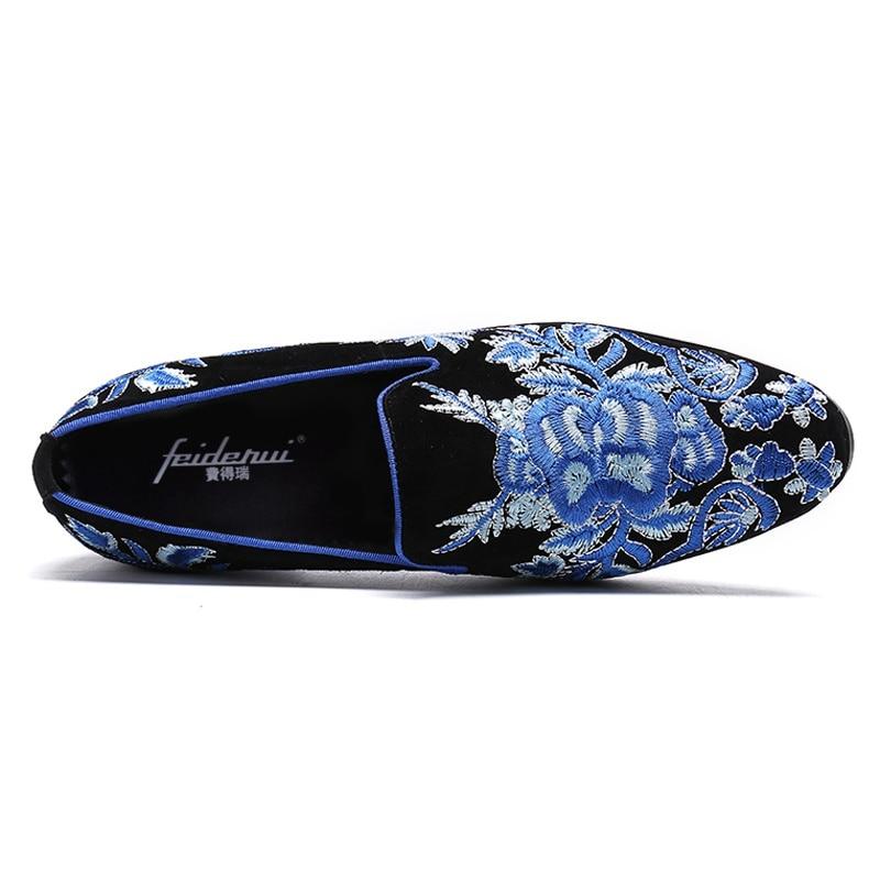 Broderie Toe Véritable Ronde Taille Slip En Multi La De Plus Confortable Mode Cuir Mocassins Chaussures Sl337 Mocassin Casual On Homme Hommes rxBdtshQC
