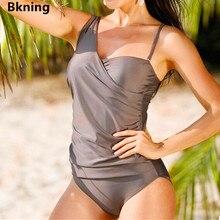 Women Swimsuit Monokini Bkning Strappy Sheer One-Piece Large-Size Female 4XL Plus 5XL