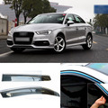 4 шт. Лезвия Боковые Окна Дефлекторы Дверь Солнцезащитный Козырек Щит Для Audi A3