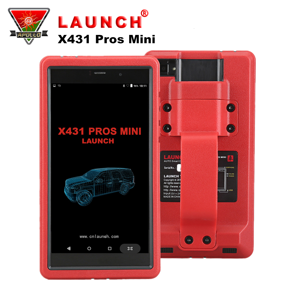 LAUNCH X431 Pros Mini Auto Diagnostic Tool Support WiFi/Bluetooth Full System OBD2 Car Scanner Code Reader 2 Years Free Update цена 2017