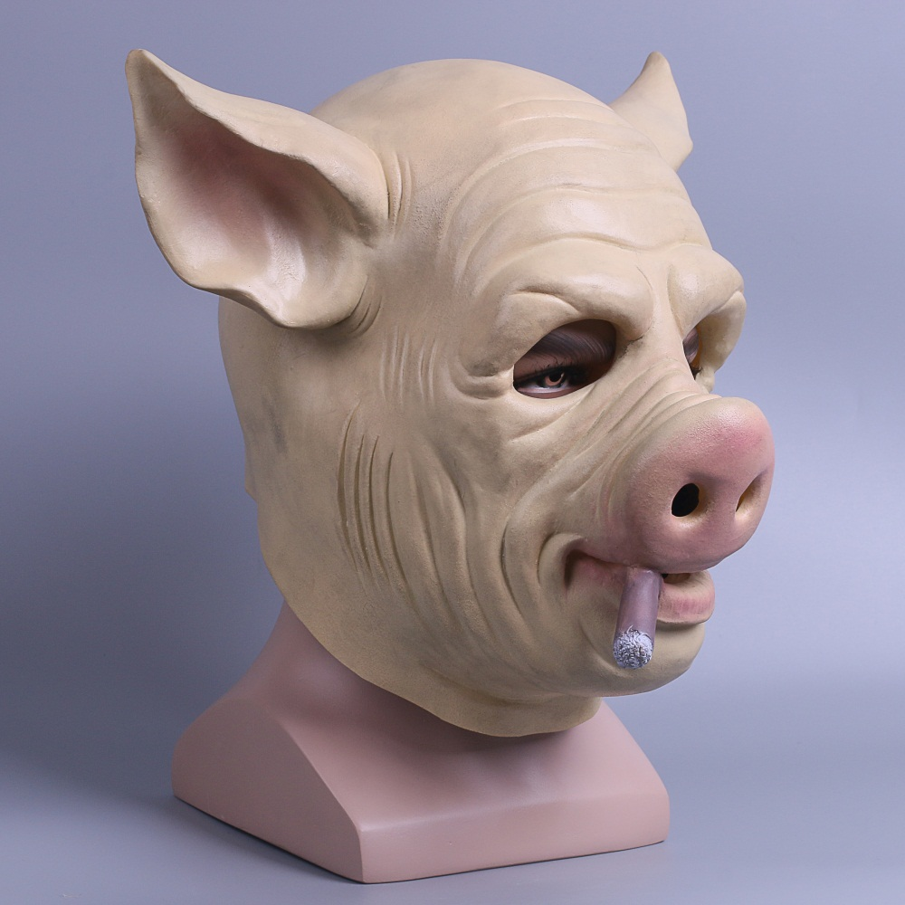 Game h1z1 Battle Royale Mask Cosplay Mischievous Pig Latex  Halloween Mask New