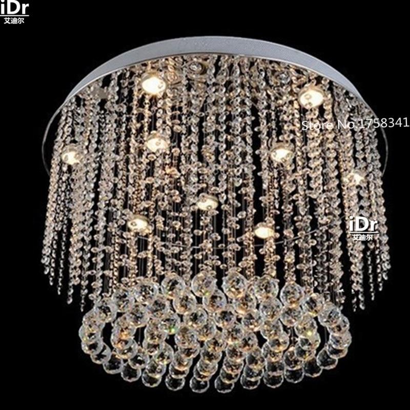US $349.0 50% OFF|Neue luxus chrom moderne kristall kronleuchter led  lampen, decke wohnzimmer lampe schlafzimmer lampe Dia600 * H400mm-in  Kronleuchter ...