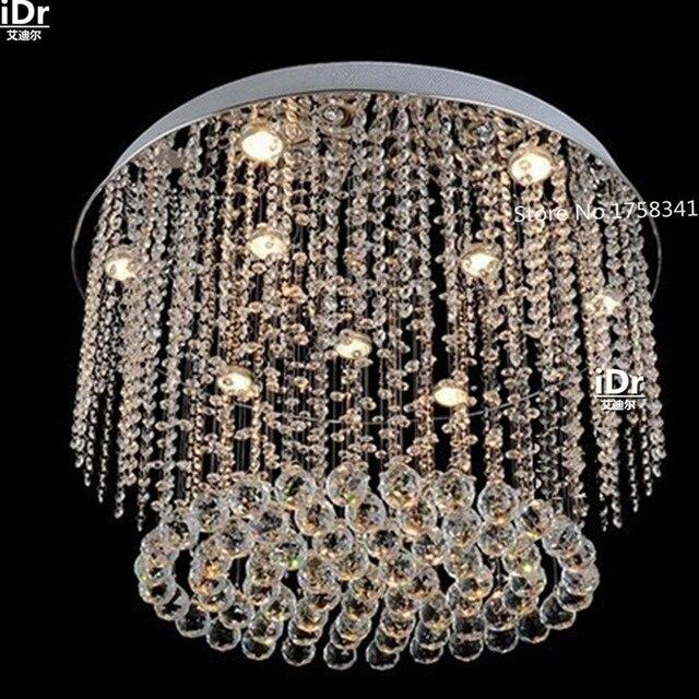 Neue luxus chrom moderne kristall kronleuchter led lampen, decke ...