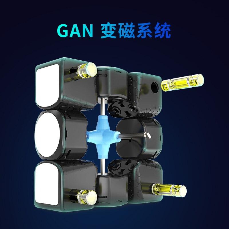 GAN 356X3x3x3 Cube magique IPGv5/numérique IPG 3x3 magnétique 356X M professionnel néo vitesse Cube Puzzle Antistress Fidget jouets - 6