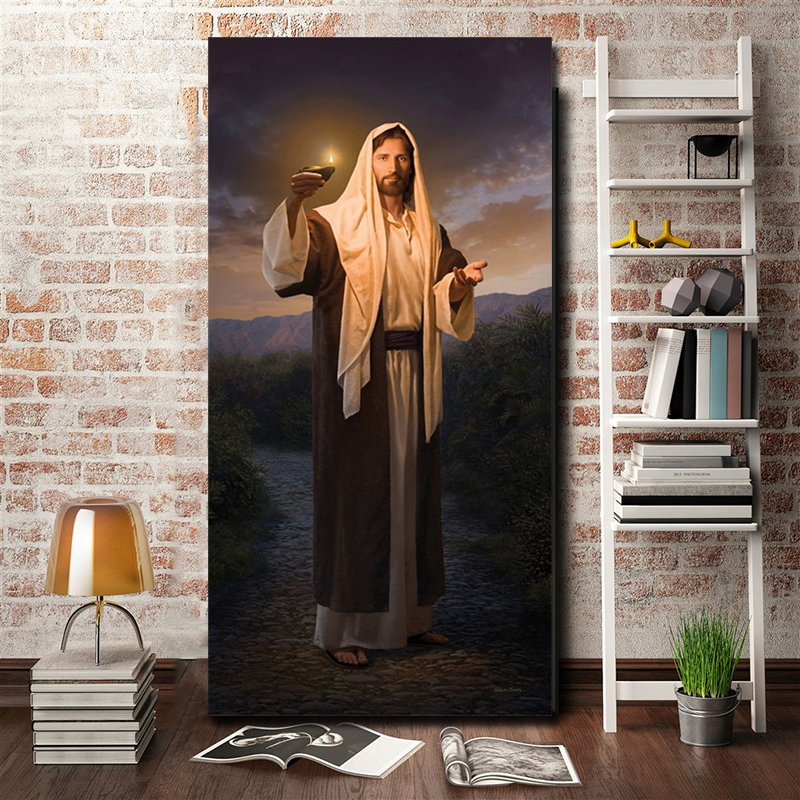 Jesus God Poster Charity Is The Pure Love Of Christ Paintings On Canvas Modern Art Decorative Wall Pictures Home Decoration