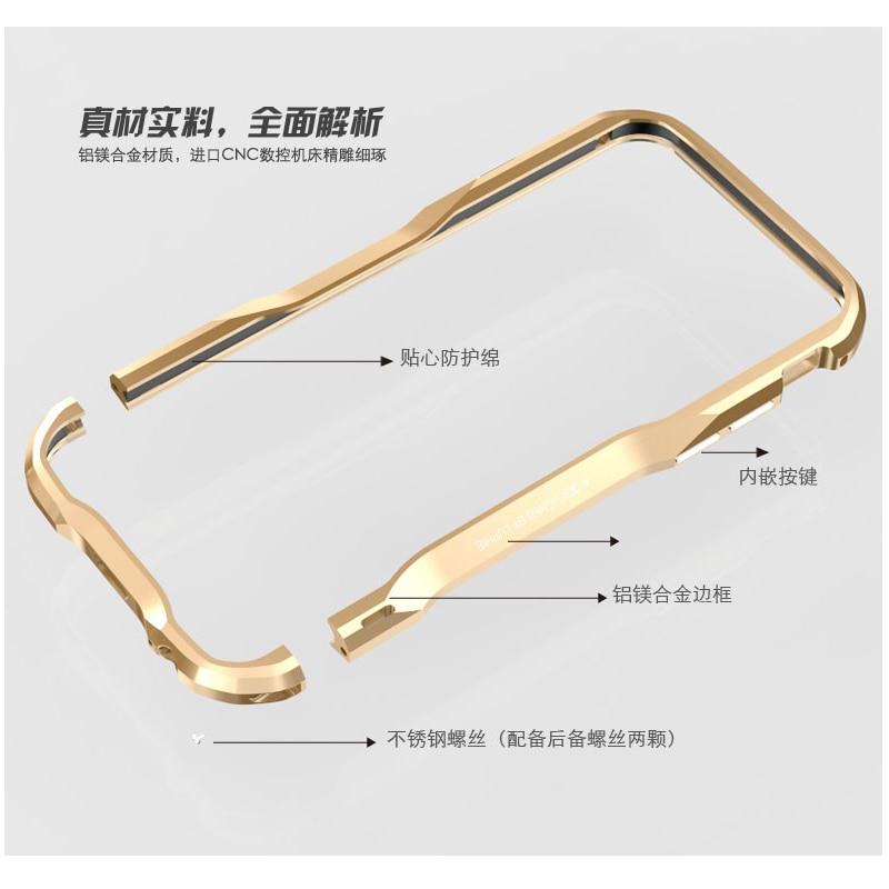Für iPhone 7 6s Luphie schlanke Metall Telefon Stoßstange Hülle - Handy-Zubehör und Ersatzteile - Foto 5
