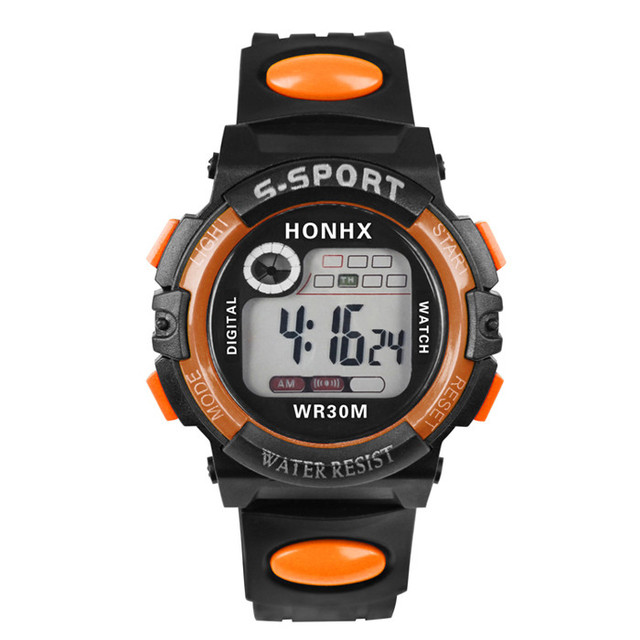 Multifunction Man Digital LED Quartz Alarm Date Sport Waterproof Watch F80