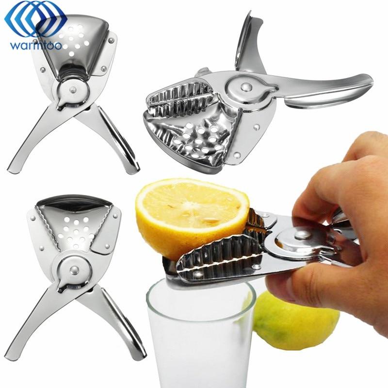 Manual Fruits Lemon Juicer Stainless Steel Squeezer Orange Juicer Household Kitchen Hand Press Tools Gadgets Kitchenware manual lemon orange juicer light green