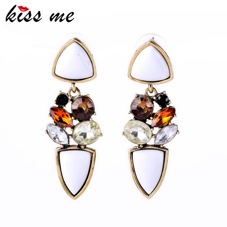 KISS ME New Yorks Charming Statement Earrings Online Store Bobo Chic Bijouterie Factory Wholesale Drop Earrings