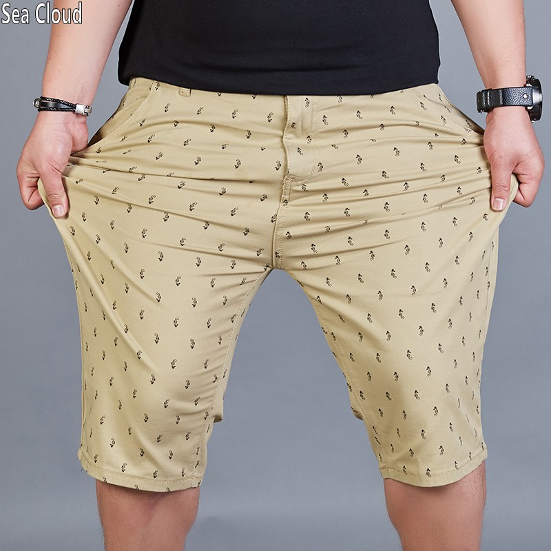 82 summer plus size hiphop mens shorts male loose straight knee-length casual short trousers cotton shorts size 46
