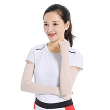 Women  Arm Sleeve Sport Running Cycling Golf Fishing Fingerless Arm Warmers Women Ciclismo Basketball Cuff Sleeves 6 Colors ST lace fingerless arm sleeves with criss cross