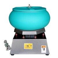 17 Большой Вибрационный стакан полировальная машина для металлических украшений жемчужные отделка приработки вибратор рок полировальный