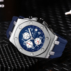 Image 4 - 2019 ONOLA Luxury brand Fashion Sports Military Mens Watches Wristwatch clock metal Waterproof multifunctional quartz watch Men