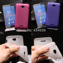 Newest Fashion Soft TPU Case for Sony Xperia E4 E2104 E2105 E2114 E2115 E2124 silicone back cover phone Case for Sony E4 case(China)