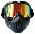 Cyclegear Brand  Vintage Helmet Mask Goggle Fitting Retro Motorcycle Helmet Shield  Gafas CG03