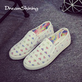 DreamShining Spring Autumn Casual Soft Flats Shoes Women White Black Round Toe Ladies Slip On Moccasins Driving PU Loafers