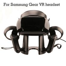 3D แว่นตา VR ชุดหูฟังสำหรับ Samsung Gear VR Oculus Rift สำหรับ HTC VIVE/Pro Virtual Reality ชุดหูฟังจอแสดงผล Station