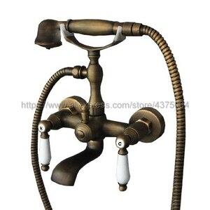 Bathtub Faucets Antique Brass