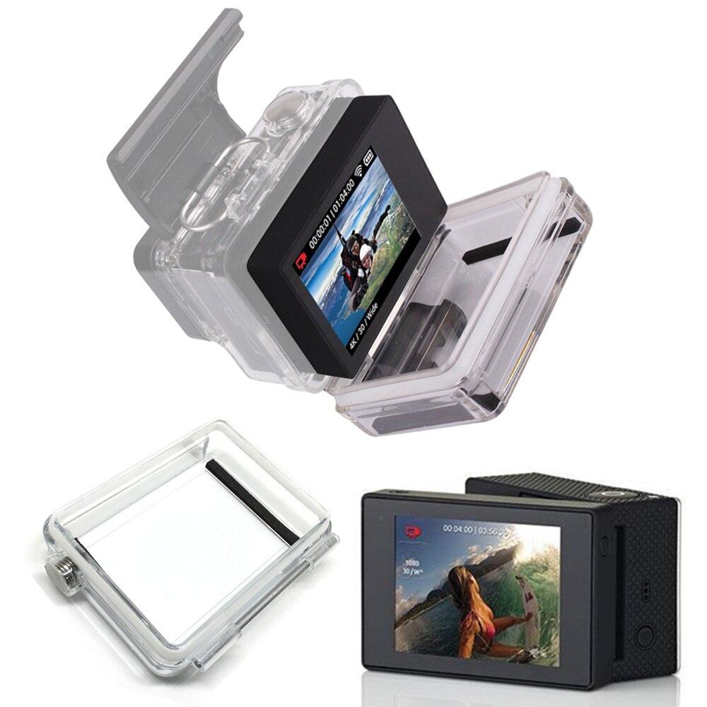 Para los accesorios de Gopro Go pro Hero 3 + 4 LCD Bacpac pantalla externa para Gopro Hero3 + 4 acción del deporte de la cámara