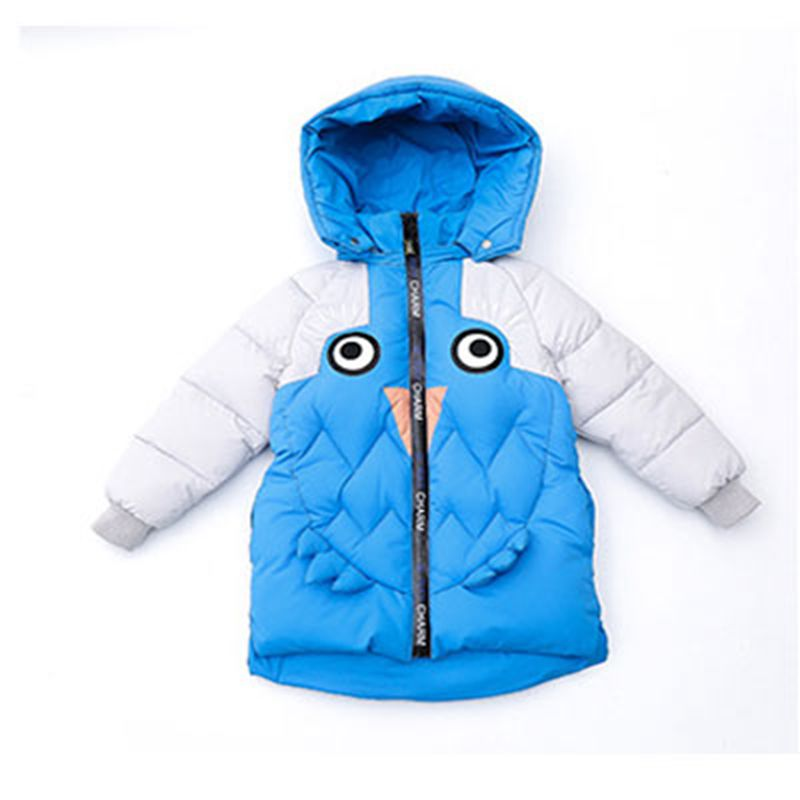 Boys Jackets & Coats New 2017 Fashion Hooded Thick Warm Down Kids Clothes Cotton Children's Outwear monster winter outwear Brand casual 2016 winter jacket for boys warm jackets coats outerwears thick hooded down cotton jackets for children boy winter parkas